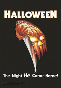 Halloween The Night He Came Home Large Fabric Poster/Flag 1050mm x 750mm (hr)